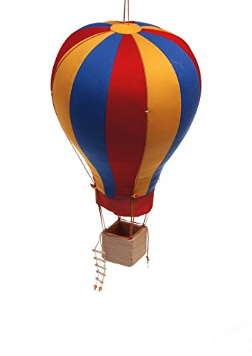 Hanging Textile Hot Air Balloon Kid Room Decor Large