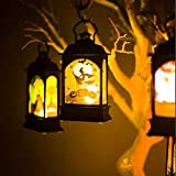 Tools & Hardware : Benlet LED Hanging Lantern Lamp Halloween Wine Light Party Bar Decoration Props Lanterns