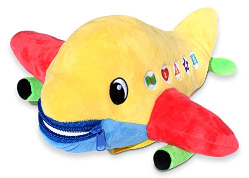 Buckle Toy - Bolt Airplane (Plush Planes Toy)