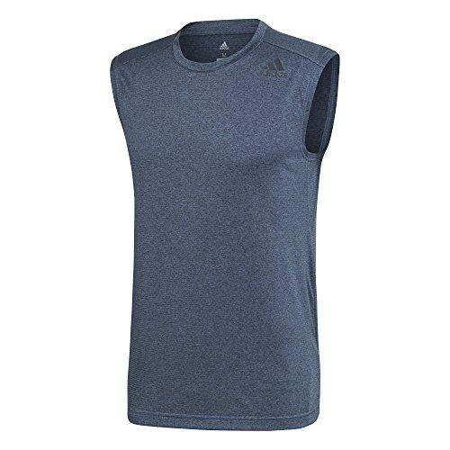 adidas Climac Sl Camiseta, Hombre Multicolor (Azul Oscuro)