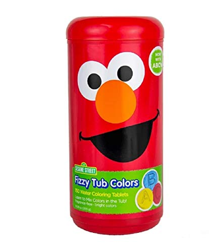 Sesame Street Fizzy Tub Color Tablets - 10.58 oz.