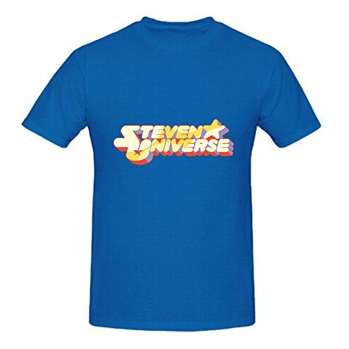 Karlee Organic Cotton O Neck Steven Universe Log Man T Shirts