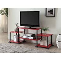 Mainstays No-Tool Assembly 3-Cube Entertainment Center for TVs up to 40 (Red)