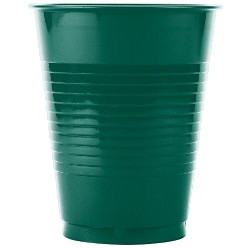Creative Converting 28314681 16 oz. Coral Orange Plastic Cup - 20/Pack