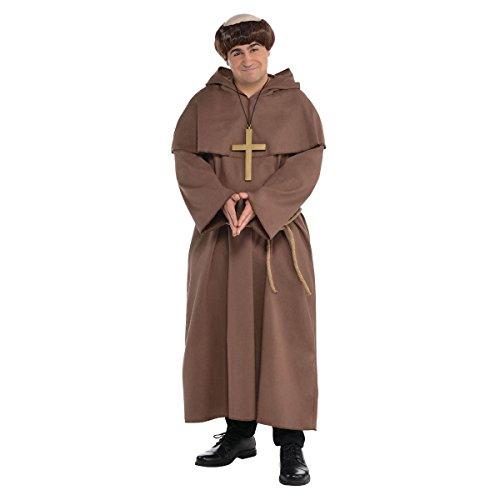 Friar Adult Costume - Plus