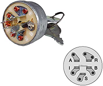 Ignition Switch for Gravely 1232G 1238G 1232H 1238H PM300 w// Dual Dust Shield