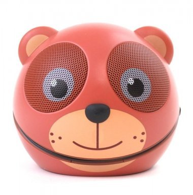 - Zoo-Tunes Portable Mini Character Speakers for MP3 Players, Tablets, Laptops etc. (Teddy Bear)