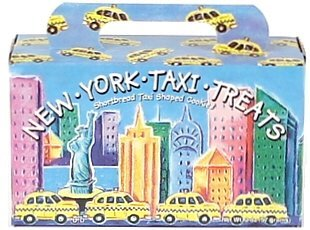New York City Taxi Treats Cookies, New York Souvenirs and Party Favors