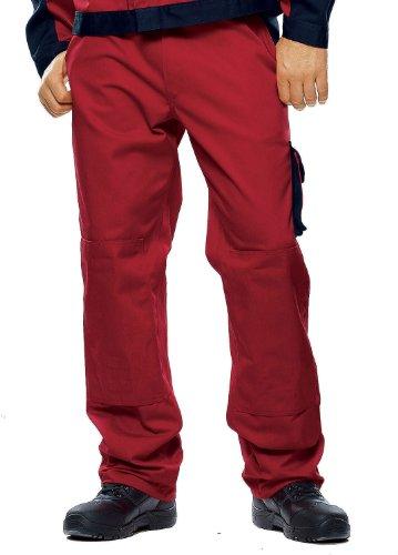 Mascot 00979-430-21-82C56 Torino Pantalon Taille Longueur 82 cm/C56 Rouge/Bleu Marine
