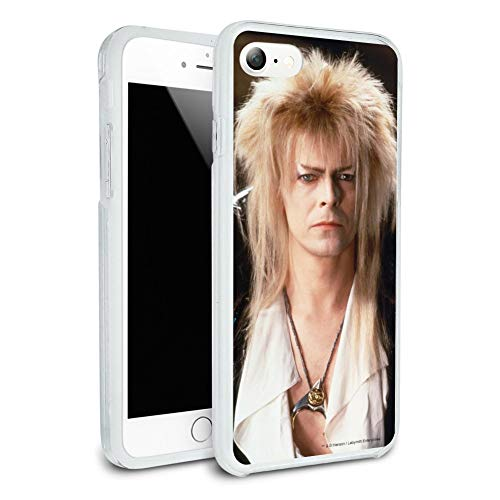 Labyrinth Goblin King David Bowie Portrait Protective Slim Fit Hybrid Rubber Bumper Case Fits Apple iPhone 8 ()