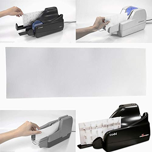 For Sale! 25 pcs/Pack Thermal Check Scanner Cleaning Card Size 4 X 6 X 0.012