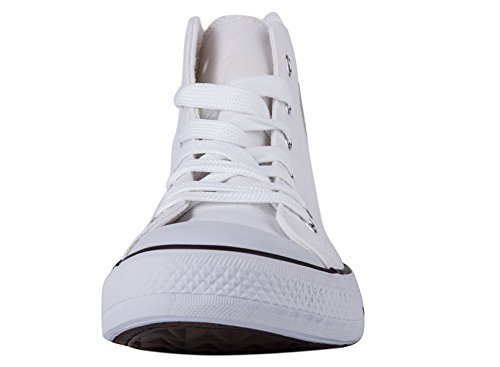 Casual and hiotps Hitops Shinmax Trainers Unisex Women shoes Season Low for White Men Canvas Ups Shoes sneaker Cut Lace Canvas aag7Bw