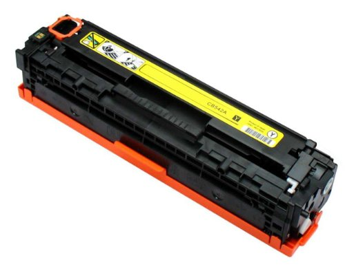 (Generic Remanufactured Toner Cartridge Replacement for HP CB542A (Yellow))