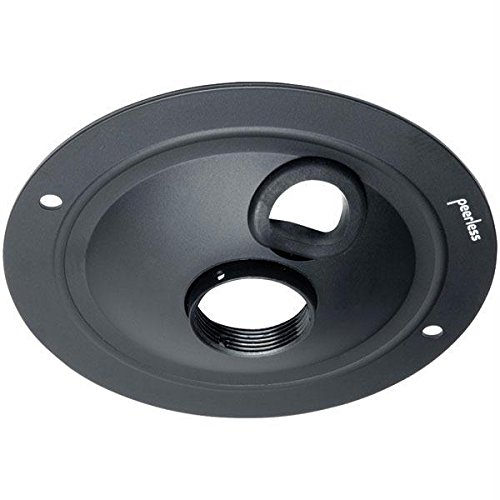 (Peerless Round Ceiling Plate Acc 570 - Mounting Component ( Ceiling Plate ) - Cold-rolled Steel - B)