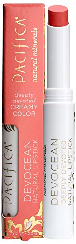 Pacifica Beauty Devocean Lipstick Rebel Sol, 0.07 Ounce