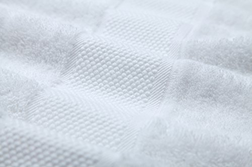 Sumc Juego de Toallas con 12 Toallas de Mano Toallas de baño pequeñas Toalla de algodón de algodón Suave y Absorbente Baño del Hotel Invitados Familiares, ...