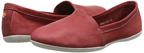 on Olu382sof Femme Chaussures Softinos Rouge Slip dt6qt8