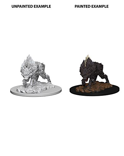 Pathfinder: Deep Cuts Unpainted Miniatures - Dire Wolf