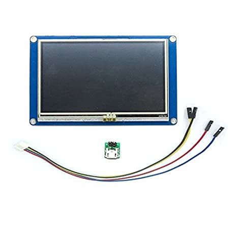"Aihasd Nextion 4.3"" HMI TFT Touch Panel LCD Display Módulo for Arduino Raspberry Pi"