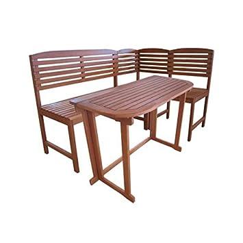 4tlg Balkonmobel Set Aruba Gartenmobel Sitzgarnitur Sitzgruppe