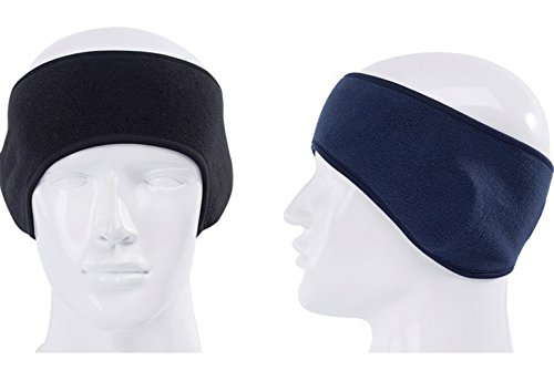 GoYonder Ear Warmer Headband Running Headwear for Men & Women,Set of 2