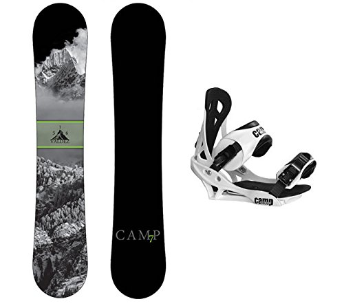 Package-Camp Seven Valdez CRC 2016 Snowboard-158 cm Wide-Camp Seven Summit (158cm Snowboard)