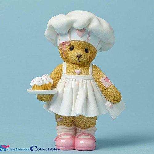 Cherished Teddies Teddy Bear Figurine Bake Someone Happy Cook Chef