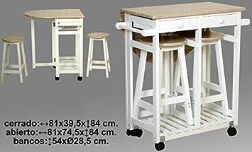 Donregaloweb carrello da cucina in legno costituito un tavolo con
