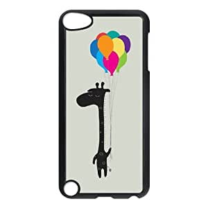 Fashion Design Custom Phone Case for Ipod Touch 5 - The Happy Flight DIY Cover Case JZQ-895228