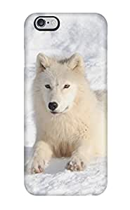 High Quality Jasenka Selimovich Arctic Wolf Skin Case Cover Specially Designed For Iphone - 6 Plus