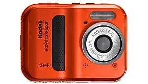 Kodak C123 - Cámara Digital Compacta, 12 MP (2.4 pulgadas, 5x Zoom digital) - Rojo