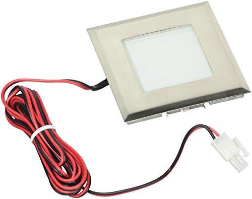 (Eurofase 19250-014 8-Light in-Floor LED Square Floor Light, Steel)