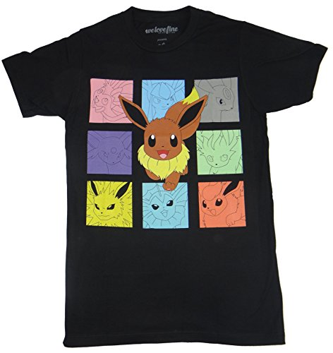 Pokemon Eevee Cubes T-shirt Photo - Pokemon Gaming
