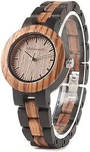 Relógio De Madeira Fontana, MafiawooD