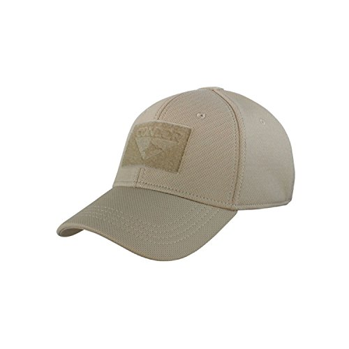 (Condor Outdoor Flex-Fit Tactical Cap Tan S/M)