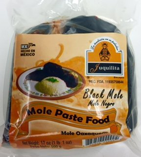 Mole Negro from Oaxaca - Black Mole Paste by Juquilita - 17 oz