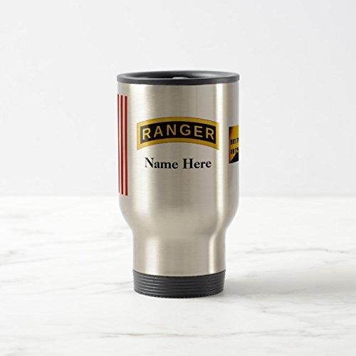 Mug Coffee Rangers (Feddiy Tumbler-Stainless Steel Travel Mug,14 oz Funny Coffee Mug-Army Ranger School Two-Tone01 Stainless Steel 14 oz)