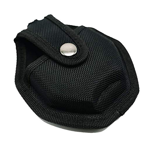UZI CUFFCASE Nylon Reinforced Handcuff Case Pouch with Metal Pocket Clip and Key Holder Tactical Police Gear handcuffs Holster
