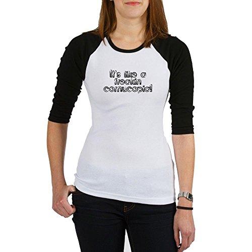 Price comparison product image CafePress - Refrigerator Madness Jr. Raglan - Jr. Raglan T-shirt, Slim Fit Junior Tee