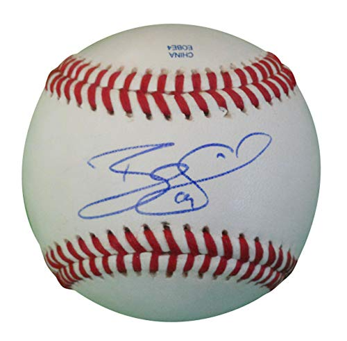 - Colorado Rockies Ryan Spilborghs Autographed Hand Signed Baseball with Proof Photo of Signing and COA, Texas Rangers