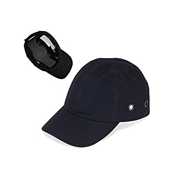 black baseball bump cap lightweight safety hard hat head protection uk inserts caps looks like