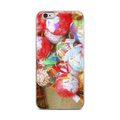 iPhone 6 Plus/6s Plus Case Anti-Scratch Creature Animal Transparent Cases Cover Decorations for Christmas Animals Fauna Crystal Clear -