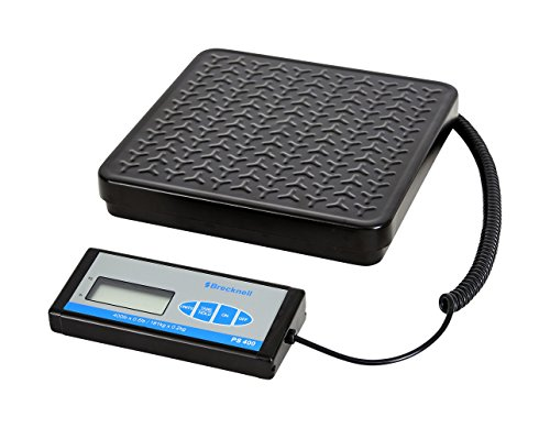 Brecknell PS400 Portable Bench Scale; up to 400lb. Capacity, Perfect for Shipping, Warehouse applications Plus General Purpose - Warehouse Shipping
