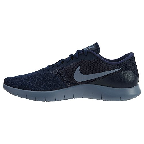 Uomo Nike Flex Contact Scarpa Da Corsa Ossidiana / Blu Scuro
