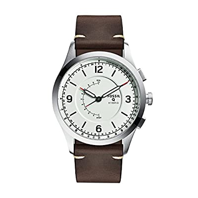 Fossil Hybrid Smartwatch - Q Activist Brown Leather FTW1204 by Fossil Connected Watches Child Code