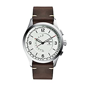 Fossil Hybrid Smartwatch – Q Activist Brown Leather  FTW1204