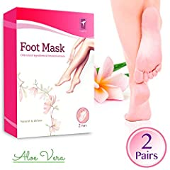 The Foot Peel Mask is Designed Specifically to Remove Hardened Skin and Dead Cells from Your Feet. It is Effective, Effortless, and Very Simple to Use. Instructions: 1. After cleaning and drying your feet, take out the foot masks and cut off ...