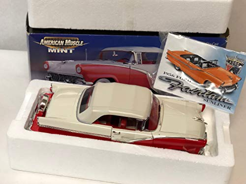 ERTL 1/18 American Muscle Mint Series 1956 Ford SUNLINER Convertible DIECAST CAR
