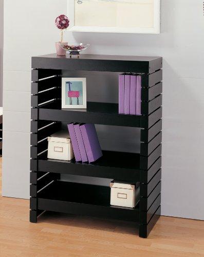 Organize It All 39654W 3-Tier Shelf, Black