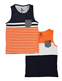 "American Hawk Little Boys' Toddler ""McKinney"" 2-Pack Tank Tops"